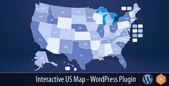 interactive us map v2 2 3 wordpress plugin web graphics theme wp