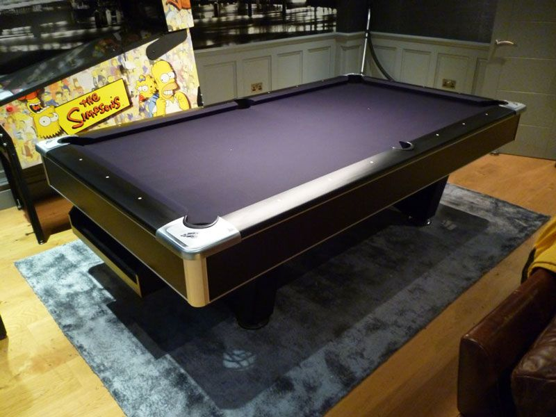 Brunswick Centurion American Pool Table   8ft | Home Leisure Direct |  Customer Install