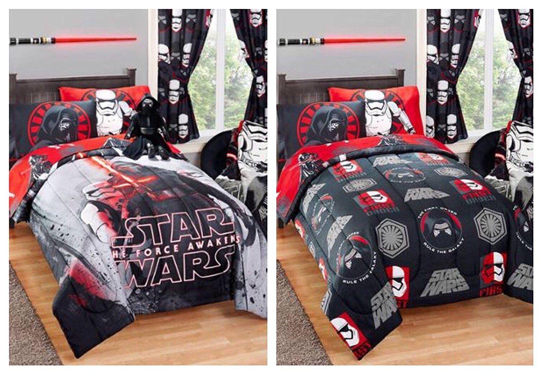 Star Wars Kylo Ren Reversible Kids Twin Full Size Bed Comforter