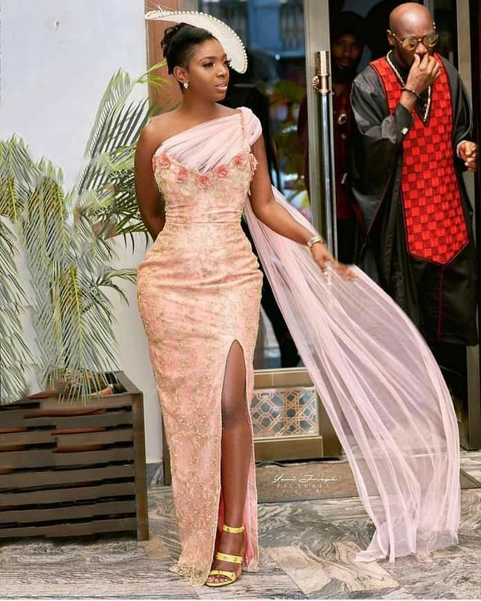 Latest Aso Ebi Styles For Wedding Guest Lace Wedding Guest Dress African Fashion African Fashion Designers
