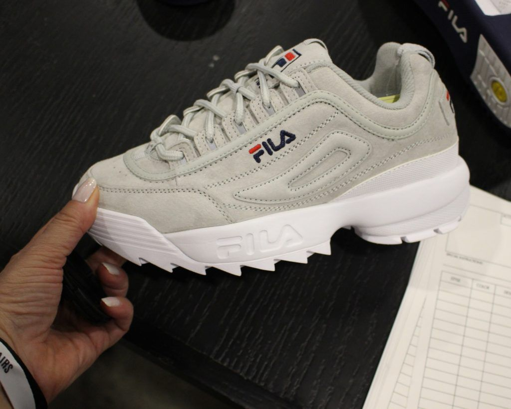 fila disruptor 2 womens grey