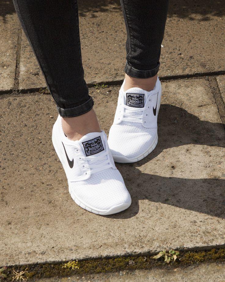 Nike Sb Stefan Janoski Max chaussures khaki black-white