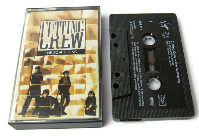 Cutting Crew The Scattering Cassette Tape Siren (1989) 80s synth Pop