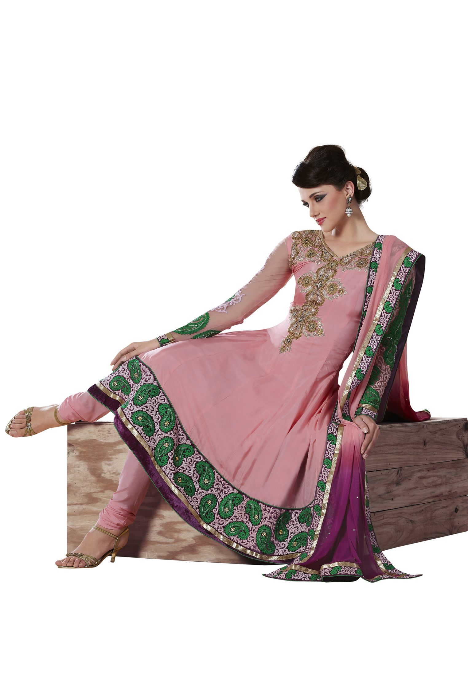 Dorable Trajes Salwar Boda India Inspiración - Colección de Vestidos ...