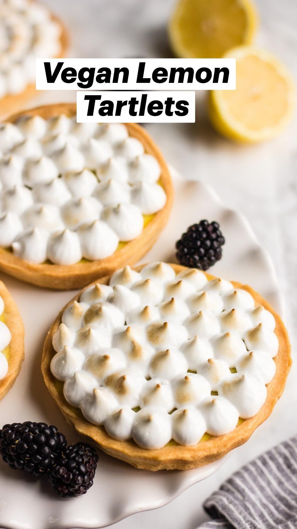 Vegan Lemon Tartlets