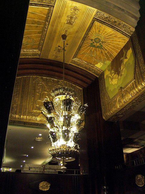 Netherland Plaza interiors