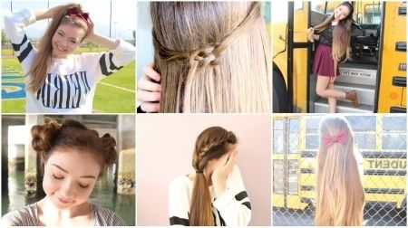 Quick Hairstyles For School Interesting Easy Quick Hairstyles For School Trends  Hairstyles For