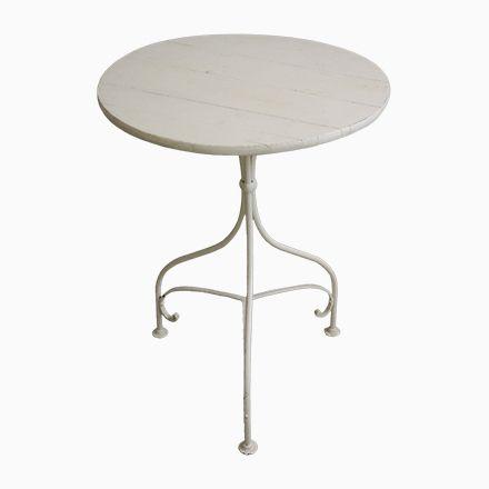 Gartentisch aus Holz und Eisen, 1900er Jetzt bestellen unter: https ...