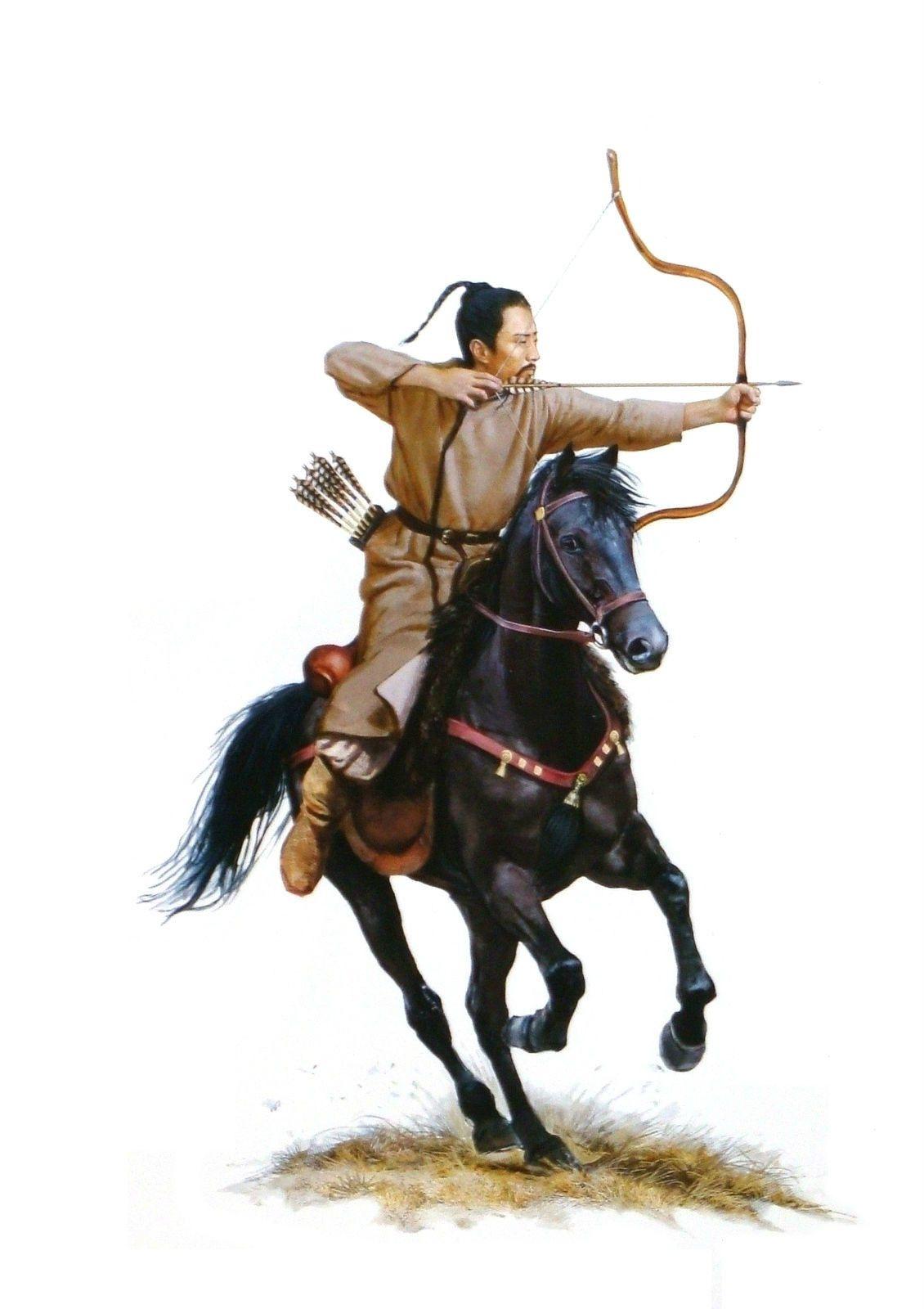 hun horse archer xiongnu hun pinterest horse
