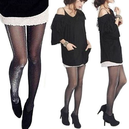 Special Section Women Solid Color Versatile High Waist Thin Section Anti-hook Silk Pantyhose 120d Velvet Base With Leg Fashion Fashionable Style; In