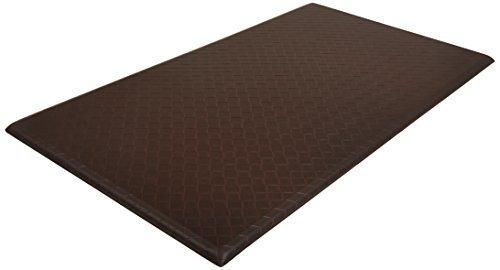 AmazonBasics Premium Kitchen/Office Comfort Standing Mat - 20x36-Inches Dark Brown