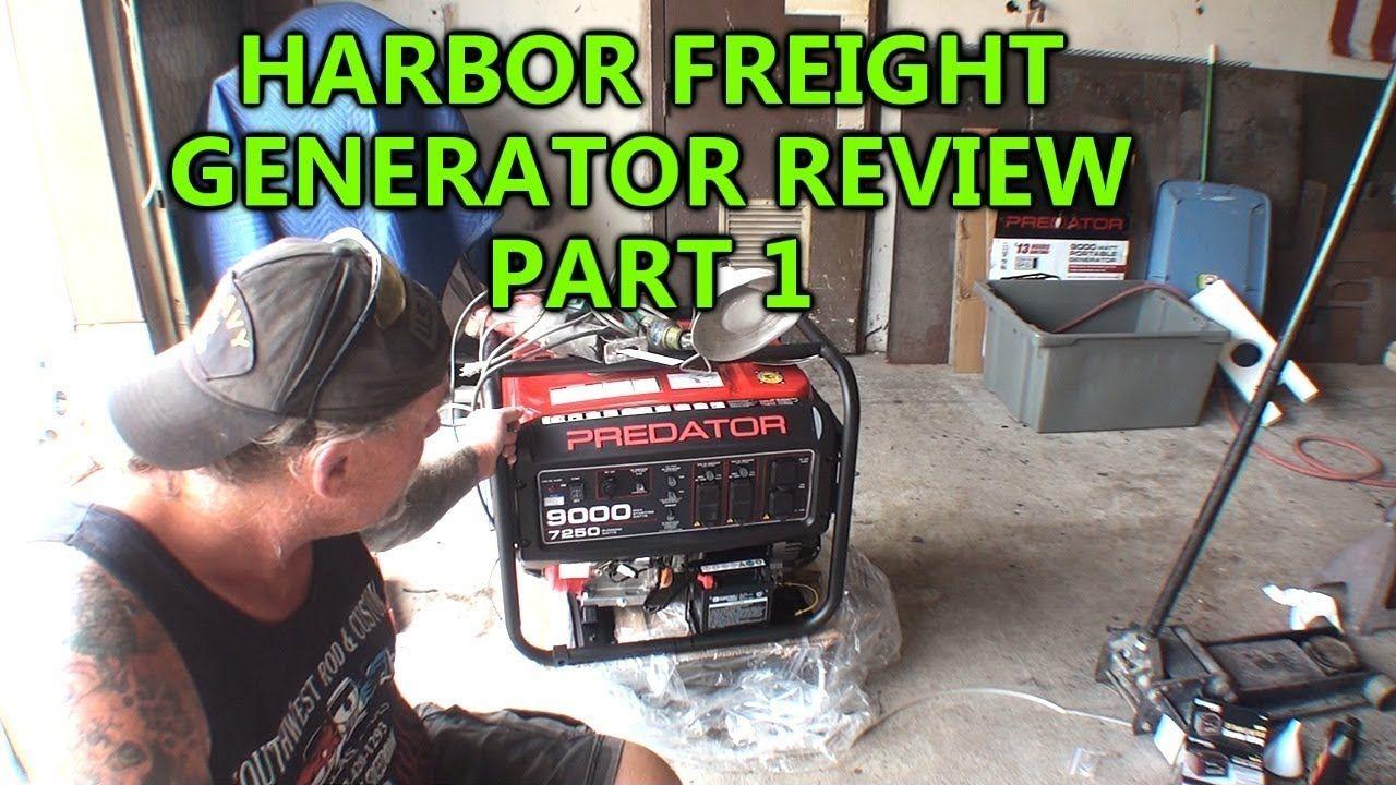 """""""HARBOR FREIGHT"""" Predator 9000 Series Generator REVIEW"""