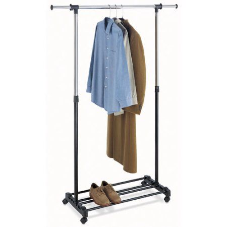 Walmart $16.99 Whitmor Deluxe Adjustable Garment Rack For Air Drying  Clothing