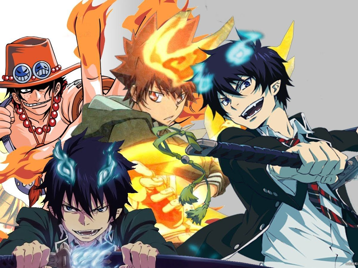 Anime Characters Powers : Top fire users in anime manga pinterest