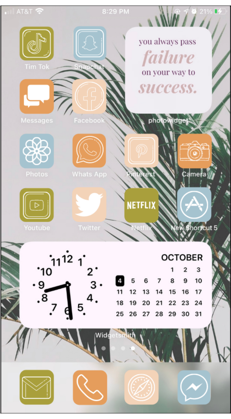 App icons Aesthetic, iOS 14 home screen ideas for your iPhone!