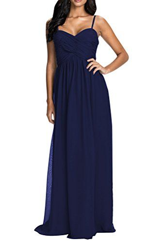 100f8ece42 JY Women s Floor Length Prom Gown Wedding Evening Gown Bridesmaid Dresses  US 8 Navy Jingyang http