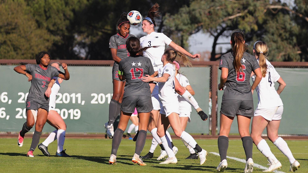 Nittany Lions Bested By 1 Stanford Penn State University Athletics Penn State Athletics Women S Soccer Team Penn State
