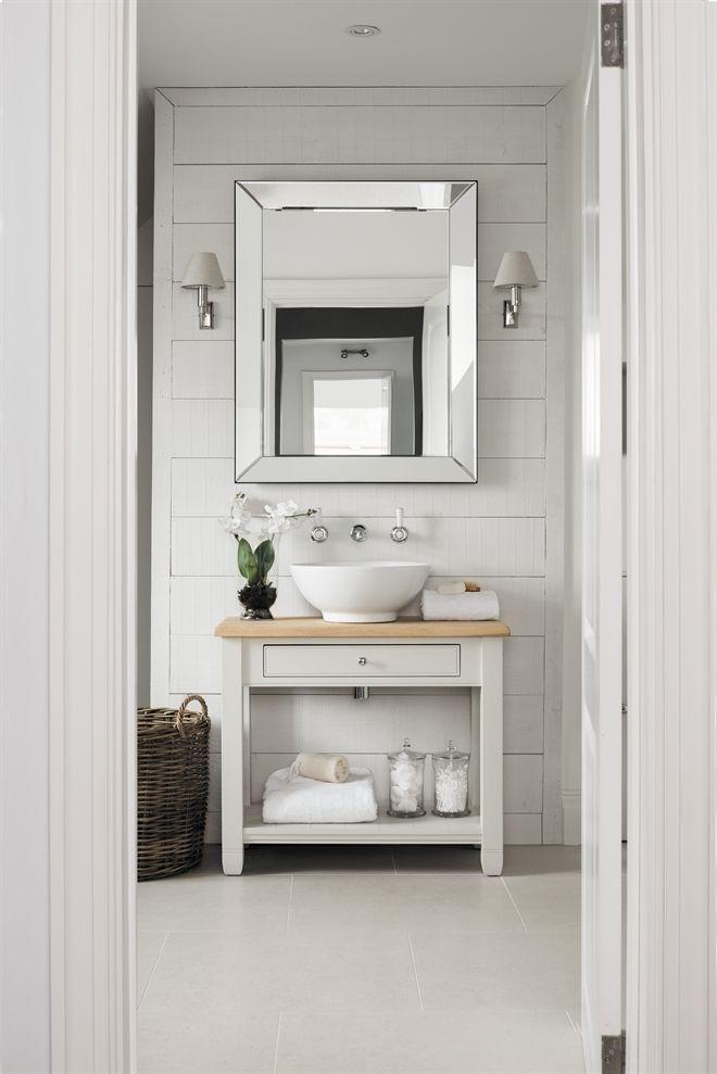 Versailles 95x75cm Mirror Half Bathroom Bathroom