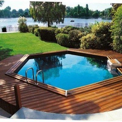 Alberca prefabricada armas pinterest piscinas - Piscinas pequenas prefabricadas ...