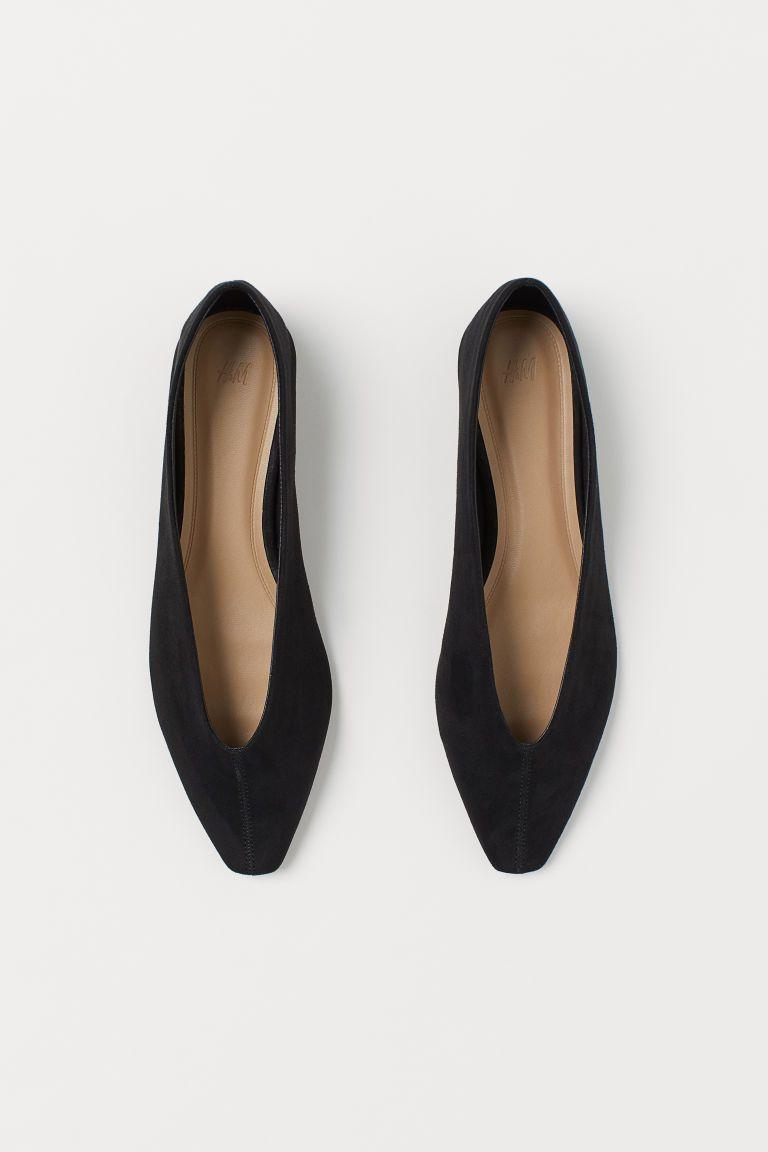 Ballet pumps - Black - Ladies | H\u0026M GB