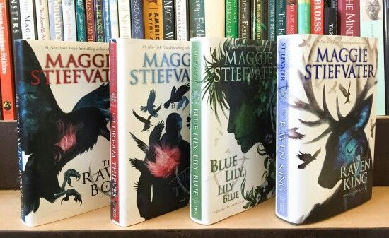 The Raven cycle books