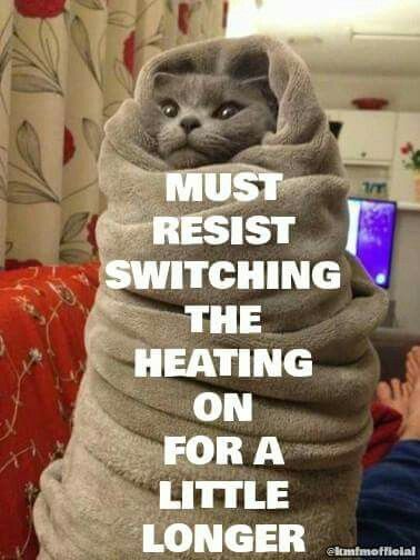 You Don T Have To Resist Any Longer It S Finally Starting To Feel Like Winter Again Cold Weather Funny Hvac Humor Saturday Humor