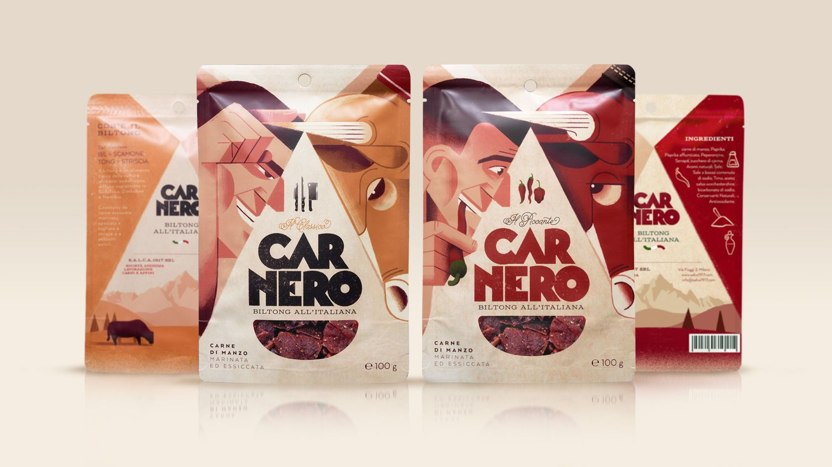 Carnero S Illustrations Beef Up Their Glorious Packaging Creative Packaging Design Packaging Design Packaging Design Inspiration