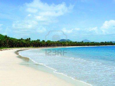#Carribean #Wild #Beach in #Martinique © #Bluelight on #123rf
