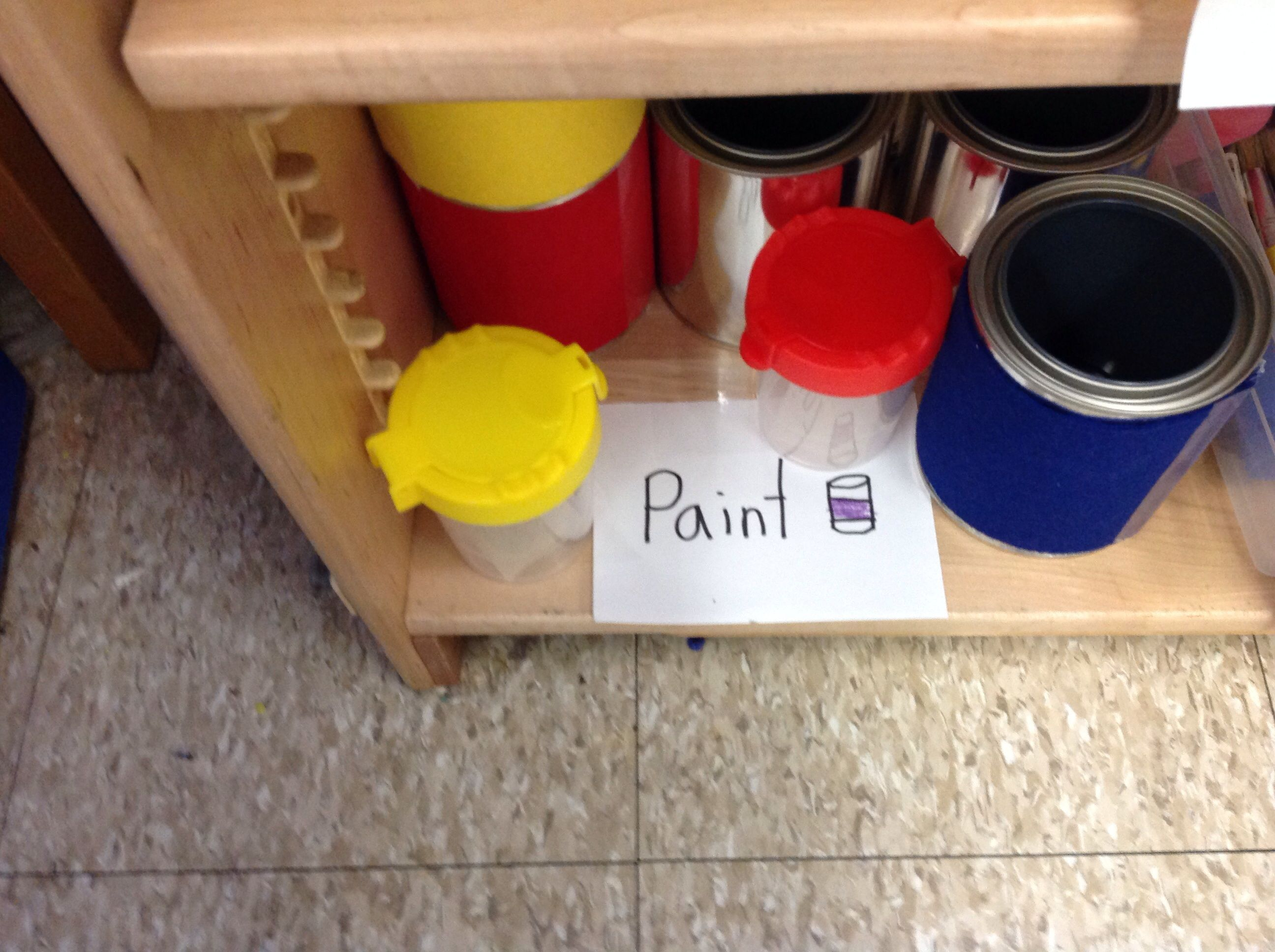 Paint In The Home Improvement Store