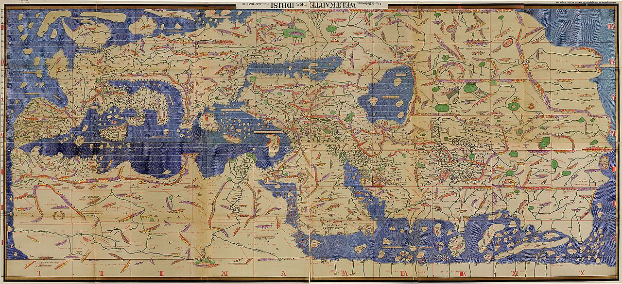 Main article Tabula Rogeriana The Tabula Rogeriana, drawn by al - copy world map africa continent