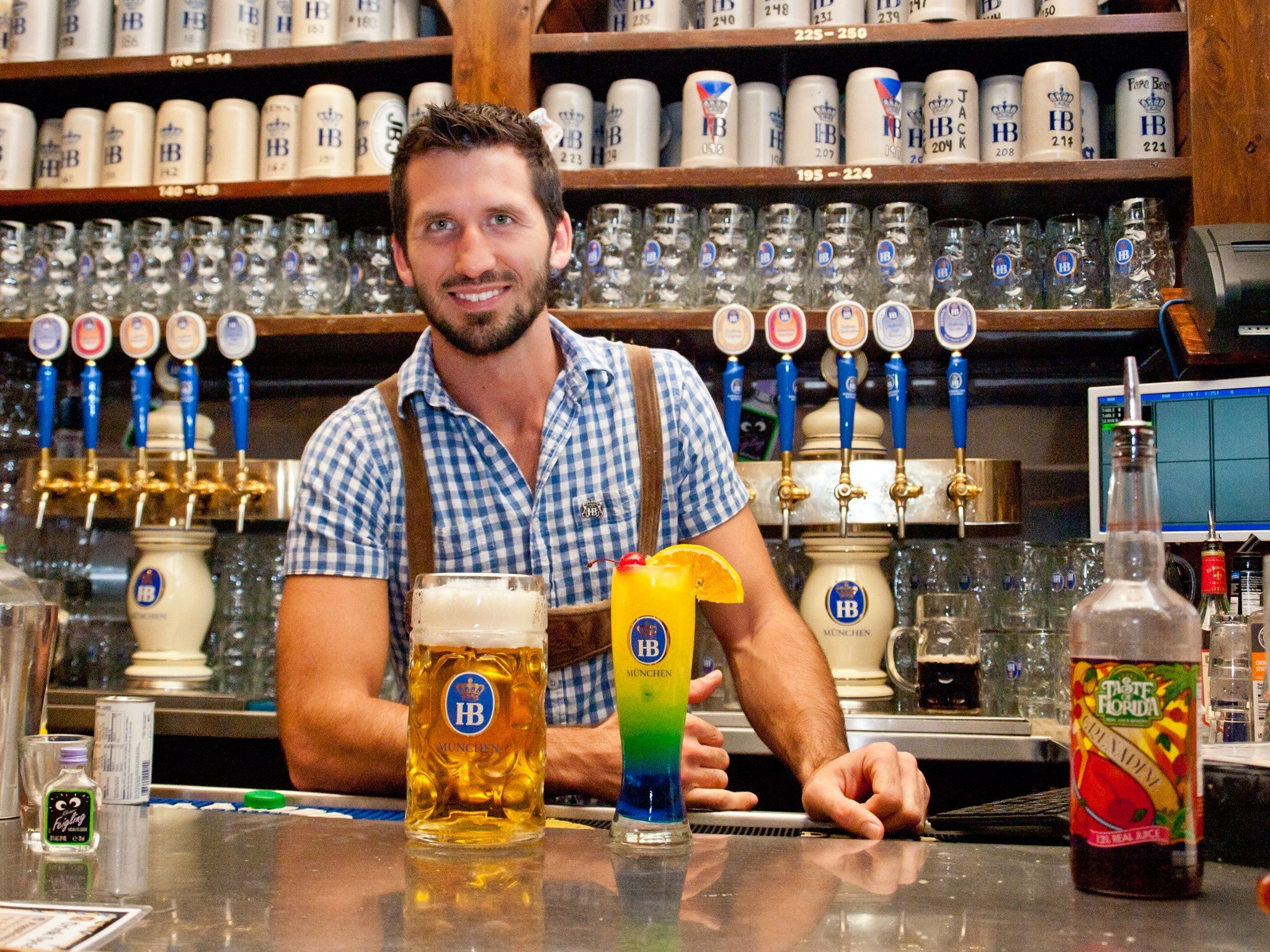 Meet the Mixologist at Hofbr u Beer garden, Mixologist