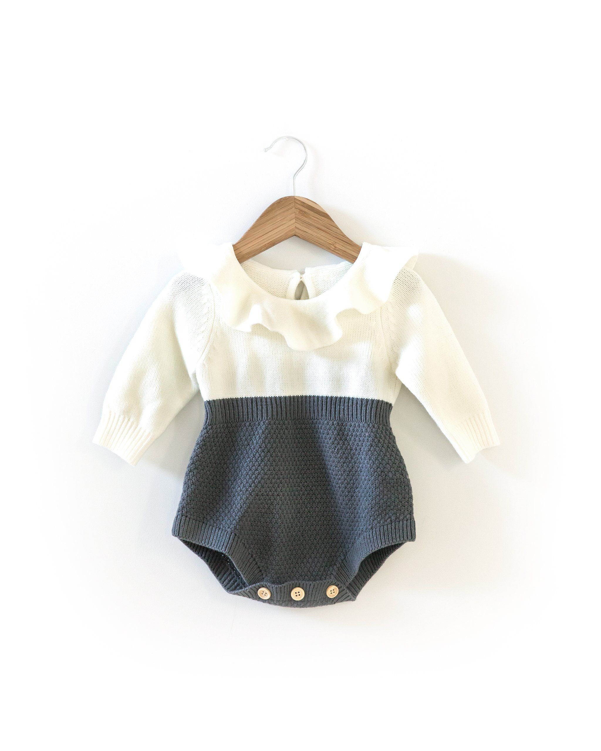 Abby Knit Romper In 2018 Products Pinterest Knitted Mom N Bab Blouse Layla White Size 5t