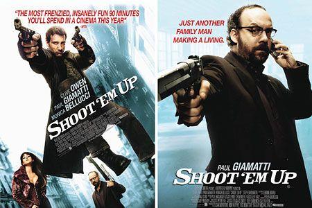 Shoot Em Up Movie Poster Google Search Hitman Movie Movie