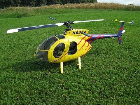 Align T-Rex 600 fuselage Hughes 500E Scale RC Helicopter