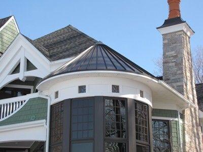 Best Dark Bronze Standing Seam Metal Roof Metal Roof House 640 x 480