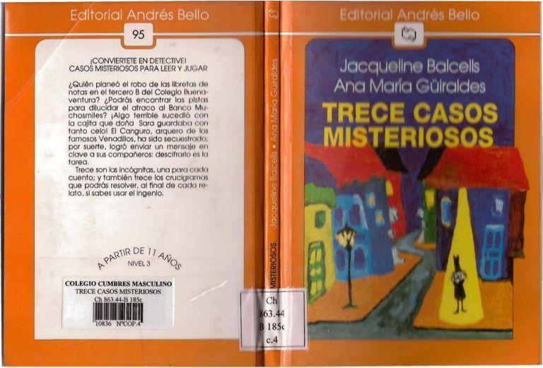 13 CASOS MISTERIOSOS PARA LEER