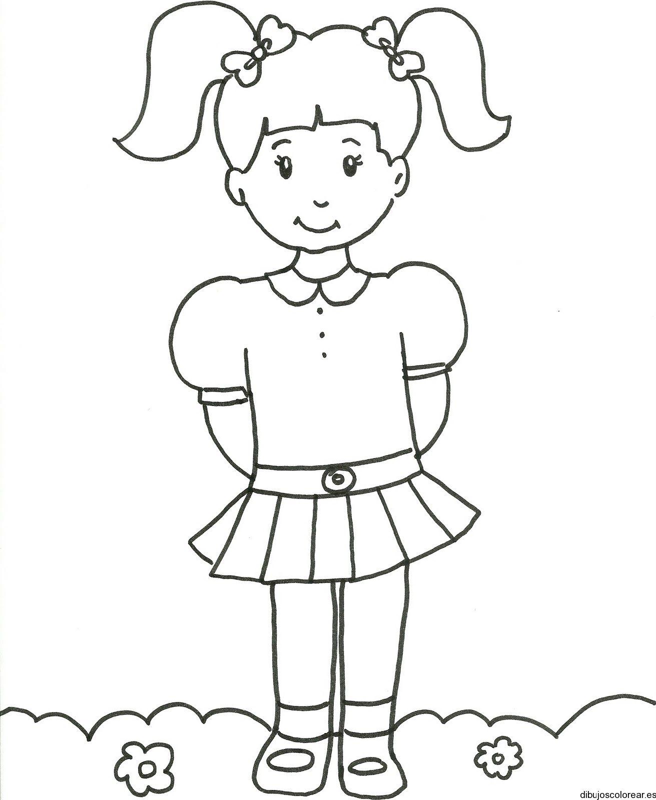 niña para pintar - Buscar con Google | Educación | Pinterest | Niños ...