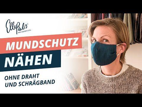 Photo of Mundschutz ohne Draht und Schrägband Elle Puls nähen