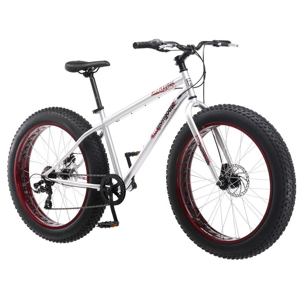 Mongoose Malus 26in. Men's Mountain Bike, Grey Mens
