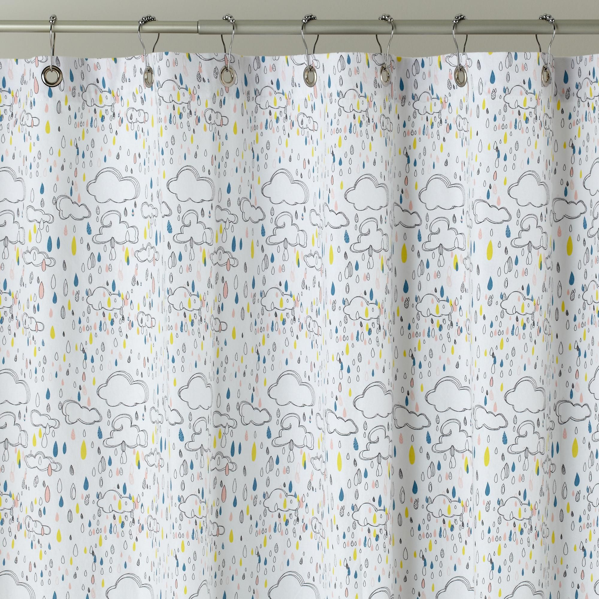 Kids Shower Curtains Rain Rain Go Away Shower Curtain In