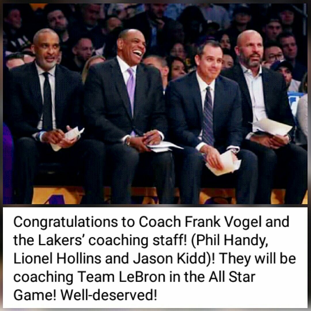 Pin By Tasha Starr Lakercrew Presente On Lakercrew 1 In 2020 Coach Team Jason Kidd Lionel Hollins