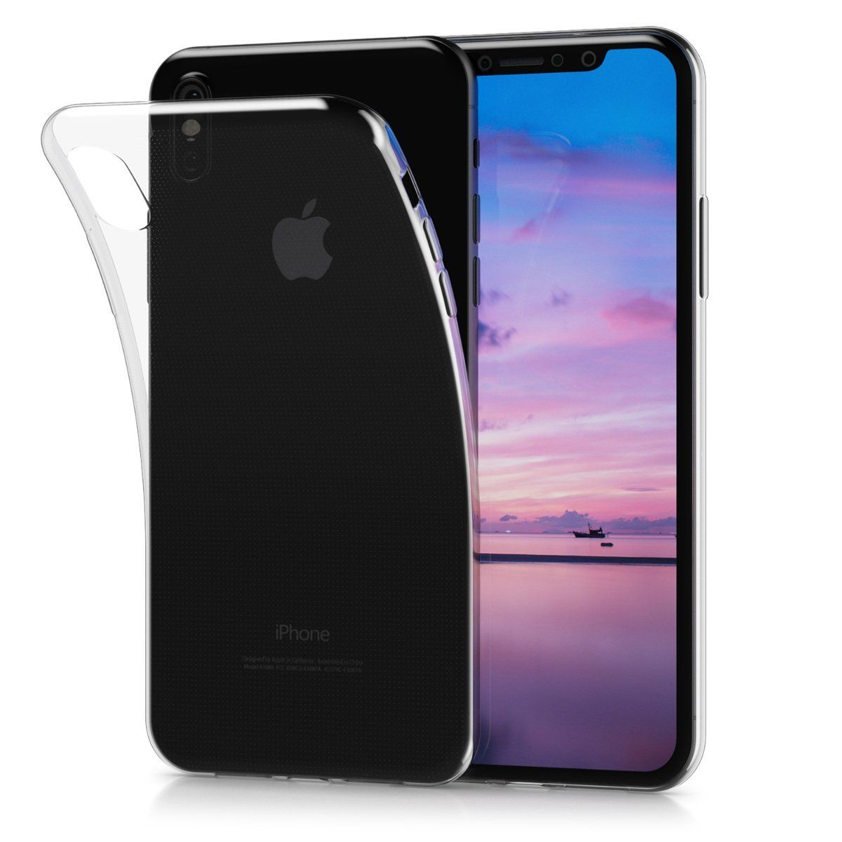 Kwmobile Crystal Case Kwmobile Crystal Case Cover For Apple Iphone X Made Of Tpu