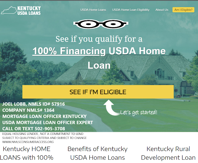 Kentucky Usda Rural Housing Loans Kentucky Usda Rural Development Loan Credit Score Mortgage Loans Mortgage Mortgage Lenders