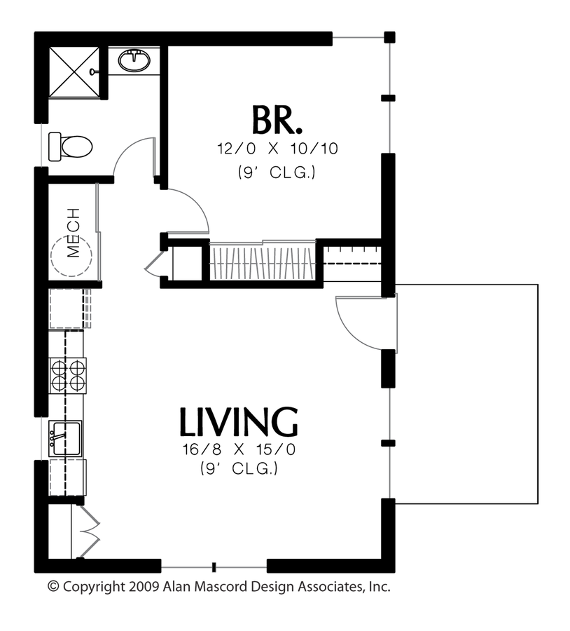 Plan 1165 The Squirrel House Floor Plans Micro House
