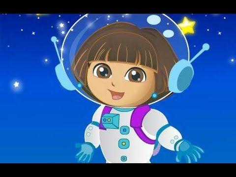 دورا الصغيرة مغامرات دورا في الفضاء العاب كرتون للاطفال كاملة Anime Cartoon Painting