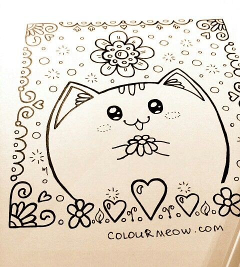 Just finished a #cat #drawing started some time ago! :) Join our ...