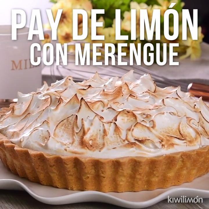 Recetas Pay de Limón