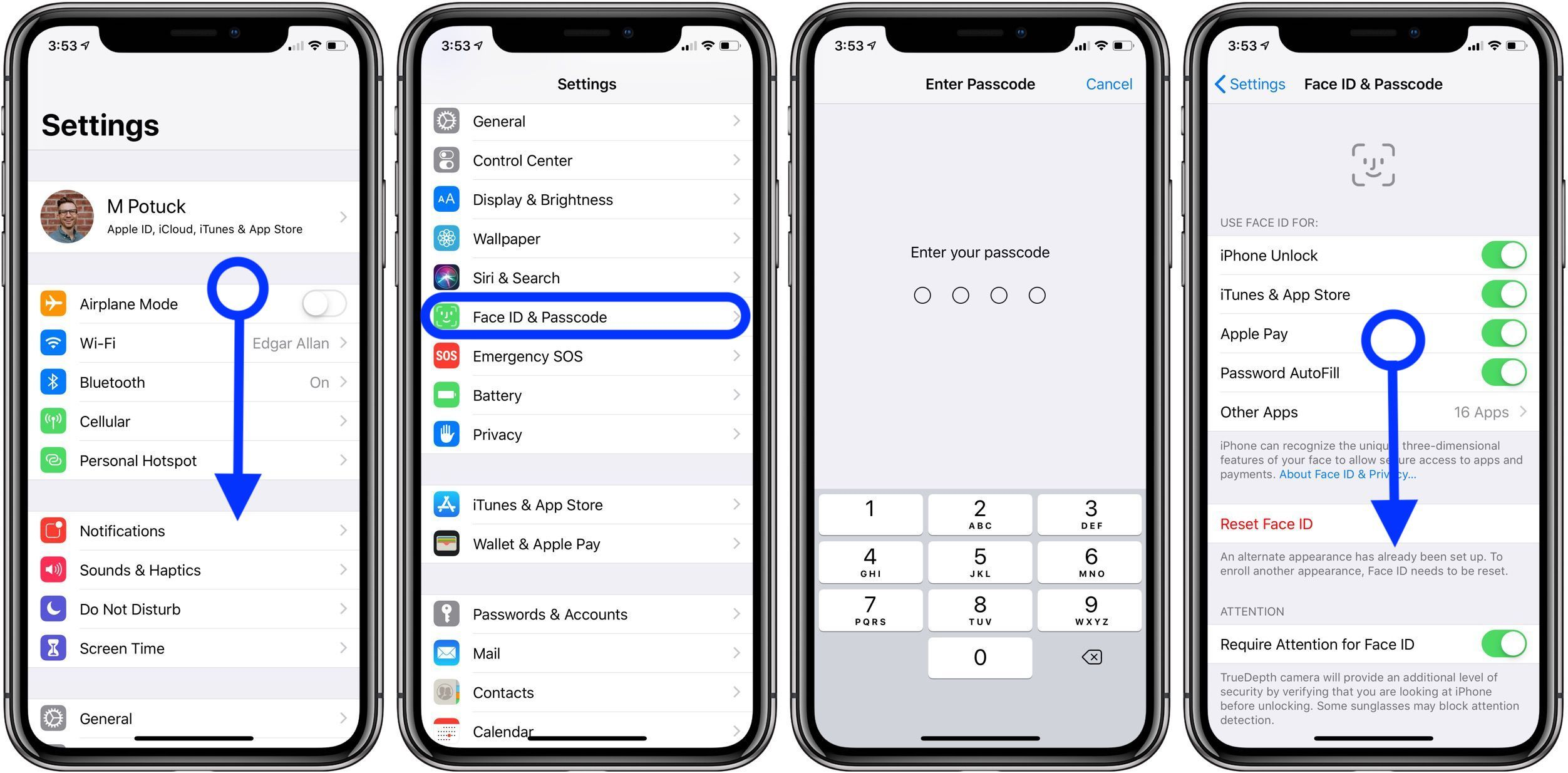 How to change your passcode on iPhone and iPad Ipad, Face id