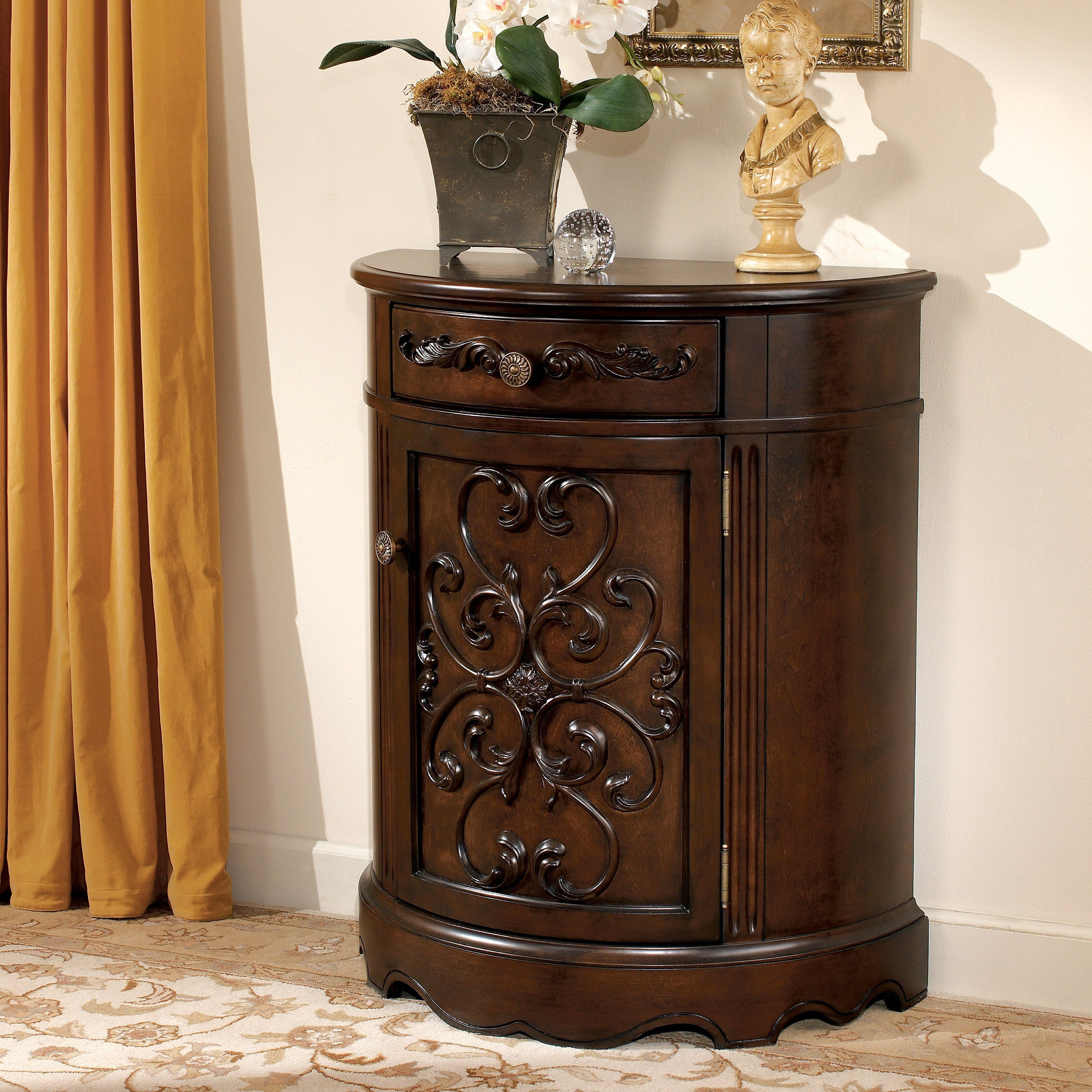 Best Signature Design By Ashley Norcastle Accent Cabinet T499 640 x 480