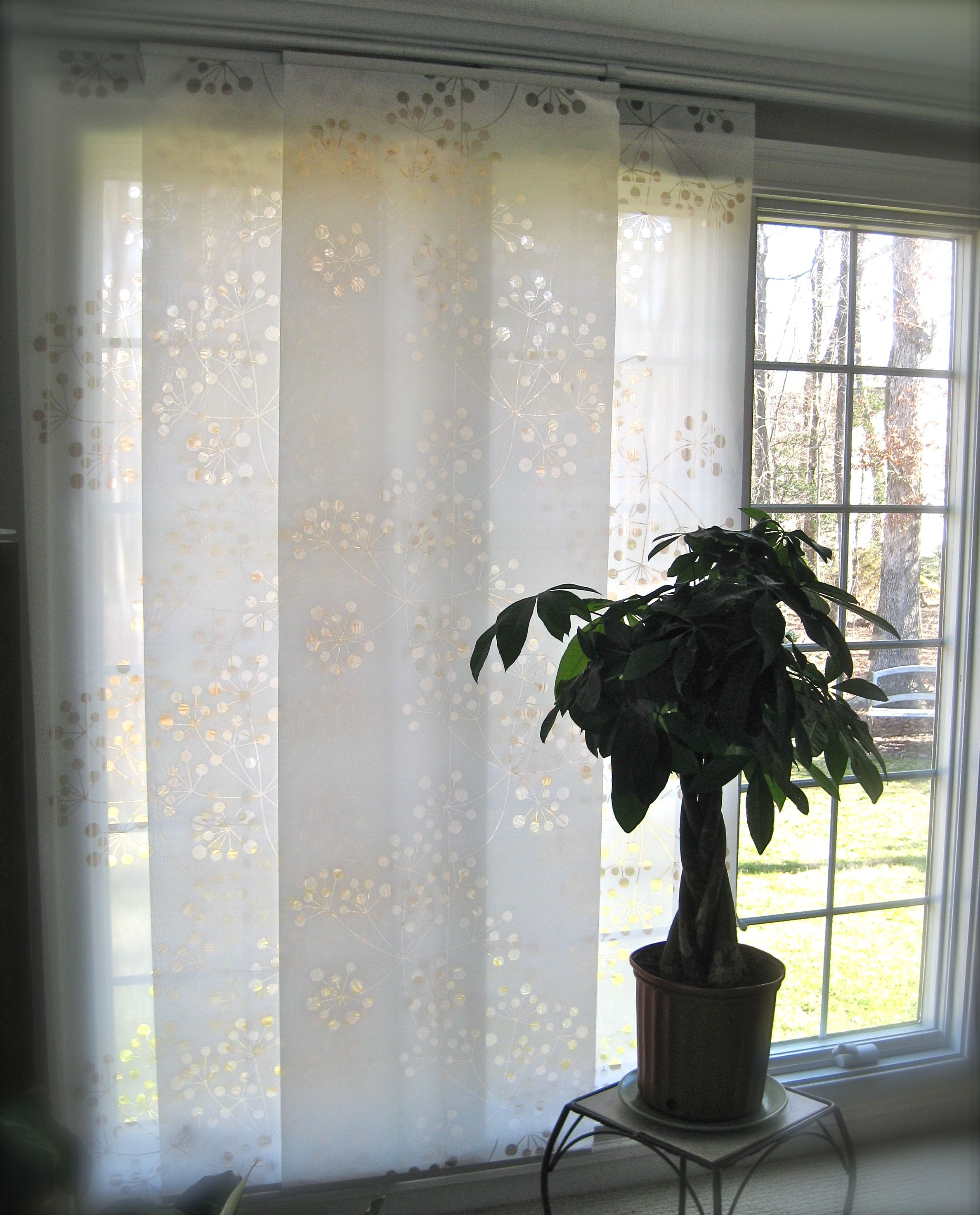 Ikea flat panel curtains - Anno Inez Panel Curtains With Kvartal Rails From Ikea Http Www Ikea